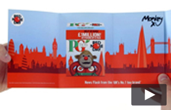 PG Tips Audio Card