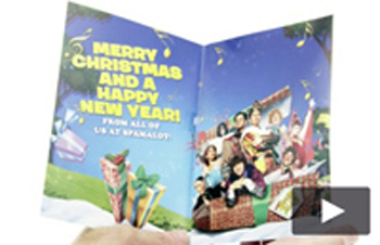 Spamalot Christmas Cards