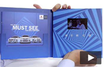Suzuki 4.3 inch Video Brochure